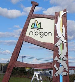 Nipigon Sign - More Elements